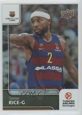2016-17 Upper Deck Euroleague Rainbow Tyrese Rice #95
