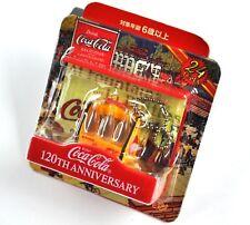 Hermoso COCA-COLA Japón COKE Llavero Llavero - Mini paquete de 6 Botellas