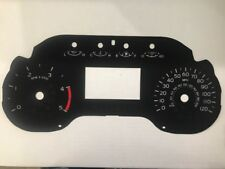2017 & Up Ford F250/350 XL XLT Lariat 6.7L Diesel Speedometer Faceplate MPH