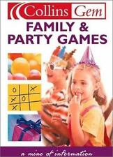 Family and Party Games (Collins Gems)