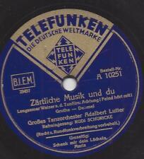 Rudi Schuricke + Orchester Adalbert Lutter : Schenk' mir dein Lächeln, Maria