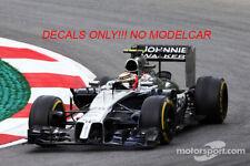 decal Mclaren MP4-29 AUSTRIAN GP 2014 Button Magnussen Minichamps F1 1/43