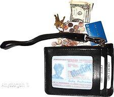 Leather Change Purse bag Ladies Wallet purse mini pocket coin case, Wristlet nwt