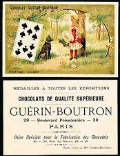Chromo Guérin-Boutron - Jeu de Cartes - Dix de Pique