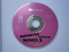 Monster truck madness 2 sur PC. Version française.