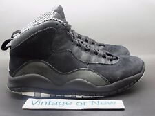 Air Jordan X 10 Stealth Retro 2012 sz 8
