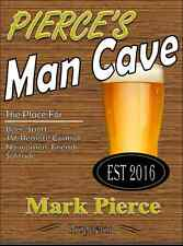 Personalised Pub sign, Home Bar, homebrew, Funny, man cave sign Free Postage