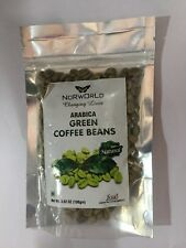 100% NATURAL ARABICA GREEN COFFEE BEANS (3.52 OZ) 100GMS  FREE SHIPPING