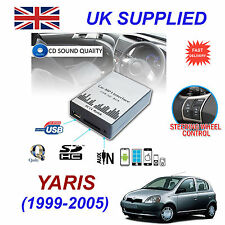 YARIS MP3 SD USB CD AUX Input Audio Adapter Digital CD Changer Module 99-05 5+7p