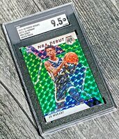 🔥2019-20 MOSAIC JA MORANT NBA DEBUT GREEN PRIZM RC #274 SGC 9.5 GRIZZLIES🔥PSA?