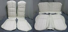 71 72 73 Mustang Fastback Deluxe Upholstery Set Reproduction Bucket Seat White