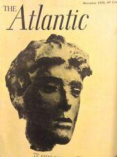 The Atlantic Magazine Italy Today December 1958 010518nonrh
