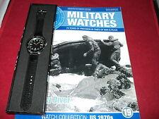 Eaglemoss Military Watches-Issue 19-US Navy Diver Watch 1970s.