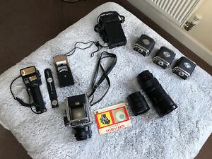 kiev 88 camera and full kit - beautiful kit - Russian USSR - Jupiter Lens
