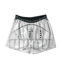 Adult Men's Movie Star Wars Stormtrooper Armor Print White Boxer Shorts