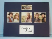"""Barbara Stanwyck in """"The Big Valley"""" and Linda Evans autograph as Audra Barkley"""