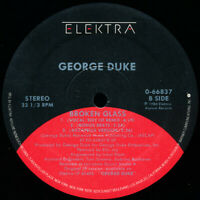 "GEORGE DUKE Electra ""Broken glass"" Single 33RPM Vinyl Record VG+ 0-66837"