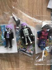 Playmobil Halloween Quick , Squelette Phosphorescent Lot De 3