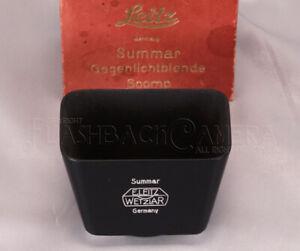 MINT Leitz Lens Hood for Summar 50mm f2 SOOMP Wetzlar Germany from JAPAN #018850