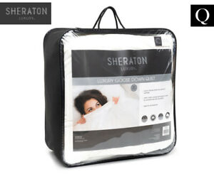 Sheraton Luxury Goose Feather / Down Quilt King Bed White