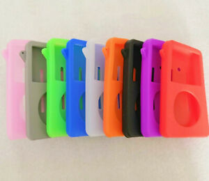 Silicone Rubber Skin Soft Case Cover for iPod Classic Video 80GB/160GB Thick