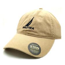 NEW Cotton Khaki Nautica Hat Baseball Golf Ball Classic Sport Casual Cap