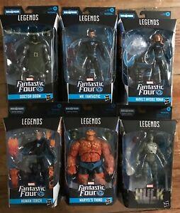 Hasbro Marvel Legends Fantastic Four 6 Figure Set Super Skrull BAF