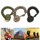 Monkey Fist Paracord Self Defense Keychain Military Steel Ball Survival out Jian