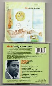 Thelonious Monk - Straight, No Chaser   (CD 1996)   Jazz