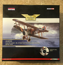 Corgi Aviation Archive AA38104 Sopwith Camel No 43 Sqn Spring 1918 NOS LE