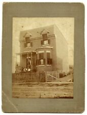 Outremont, Montreal, Family on the Porch, Architecture House, Vintage Photo