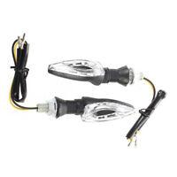 2 x 12 LED SMD Clignotant Feux Ampoule Indicateur Lumiere Ambre 12V pour Moto Q7