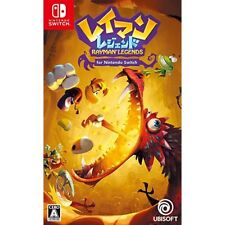 Ubisoft Rayman Legends for Nintendo Switch Japanese Import Region
