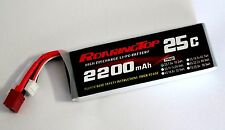 RoaringTop LiPo Battery Pack 25C 2200mAh 2S 7.4V with Deans Plug