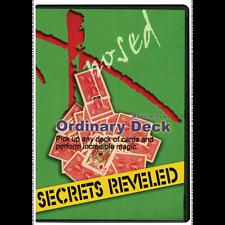 Ordinary Deck Magic Secrets Revealed Dvd magician clown tricks