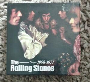 THE  ROLLING STONES  1968 - 1971  SINGLES   10 CD  BOX SET