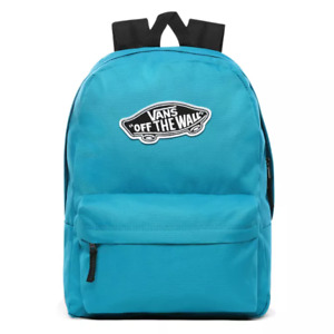 Vans Realm Off The Wall Turquoise Rucksack Backpack School Uni College Bag Unfor