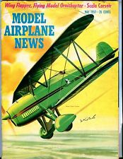 Model Airplane News Magazine May 1957 Great Lakes Trainer GD 041317nonjhe