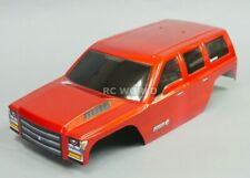 1/10 RC Truck CRAWLER Body SHELL Finished Red Cat EVEREST GEN7 Body ORANGE