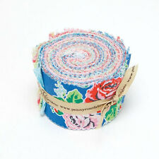 Strawberry Buscuit Jelly Roll Rolie Polie Pre-cut Quilt Fabric Strips Penny Rose