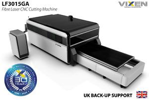 Fibre Laser CNC Cutting Machine 3000x1500 shuttle table £94,0000 ex works