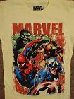 Spiderman, Iron Man, Captain America The Incredible Hulk Marvel Comics T-Shirt