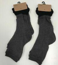 Señoras rodilla alta calcetines despojado Una Talla Bnwt