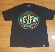 BREEZY EXCURSION Western Conference Black T-Shirt Extra Large XL West BEST Tee