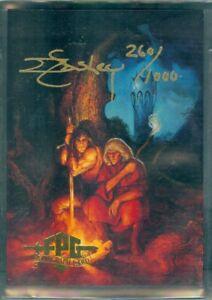 Jeff Easley Fantasy Art  Jeff Easley Autograph Card released by FPG in 1995