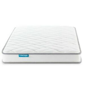 "Colchones Twin Full Queen King Size De Resorte 6"" Innerspring Mattress Cool Gel"