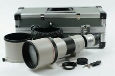 Canon New FD 500mm F/4.5 L NFD Telephoto Lens w/Trunk case [Very good] 06-a33