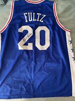 MARKELLE FULTZ Philadelphia 76ers Signed Autographed Rookie Jersey W/CoA