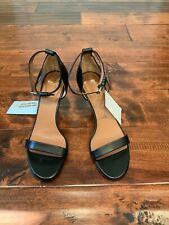 Givenchy Black Leather Mary Jane Buckle Heels Size 36 (EU) 6 (US), New!