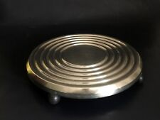 "Rare Christofle Lanel ""Ondulations"" Trivet/ Dish Support - Tableware"